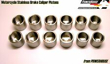 Suzuki GSXR750 V SRAD front brake caliper stainless piston set 1997