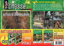 Lot 2 DVD Battues grand gibier - Chasse du grand gibier - Top Chasse