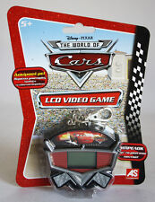 RARE 2008 CARS LCD HANDHELD ELECTRONIC VIDEO GAME KEYCHAIN BRAND NEW MOSC !