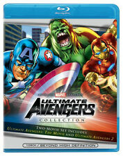 Ultimate Avengers Movie 1 & 2  Blu-Ray Captain America