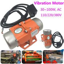 110/220/380V Vibrator AC Vibration Motor 30-100W Vibrating Asynchronous 3600RPM