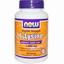 Now Foods L-lisina - 1000mg X100tabs