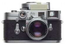 Stunning kit Leica boxed SS M3 rangefinder 35mm film camera DR Summicron 2/50mm