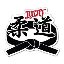 Judo Black Belt Sticker Decal Surfboard Vintage Skate Surf #7604EN