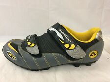Shimano Bike Shoes Mens 5 Med EUR 38 Gray Cycling SH-M082WY Leather No Hardware
