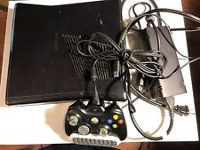 USED XBOX 360 S - 1439 - CONSOLE BUNDLE WITH GAMES, CONTROLLER & POWER ADAPTOR