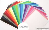 A4 coloured card 240gsm - Crafts, scrapbooking, wedding invitation - 24 colours