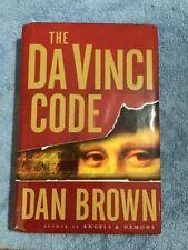 The Da Vinci Code by Dan brown (hardcover)