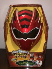 Red POWER RANGERS Jungle Fury Mega Mission Helmet Lights & Sound BRAND NEW n BOX