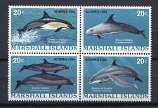 s1891b) MARSHALL ISL.  1984 MNH** Ausipex, dolphins 4v [+]