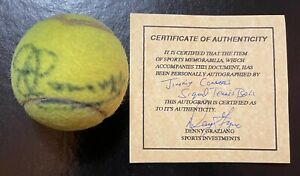 Jimmy Connors Signed Autograph Penn Tennis Ball HOF COA Auto
