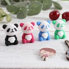 Cartoon Panda Rubber Eraser For Stationery Students Drawing Correction Supplies