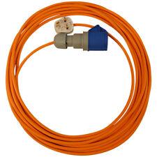 Extensión de 25 M para el castillo hinchable Sopladores 13 Amp a 16 Amp Cable 16 A Naranja