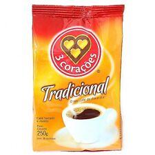 3 CORAÇÕES Cafe Tradicional 250 gr. / 8.8 oz.