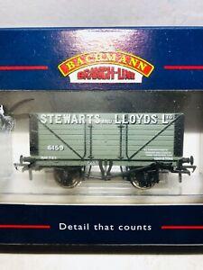 """Bachmann 37 150 """"Stewarts and Lloyds Ltd"""" 8 Plank wagon"""