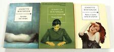 Jeanette Winterson SCRITTO SUL CORPO + POWERBOOK + NON CI SONO SOLO LE ARANCE