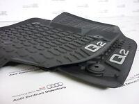 Original Audi Q2 Gummimatten/Gummifußmatten/Allwetterfussmatten Audi Q2 vorne