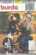 burda 4227 Doll and Clothes  Sewing Pattern