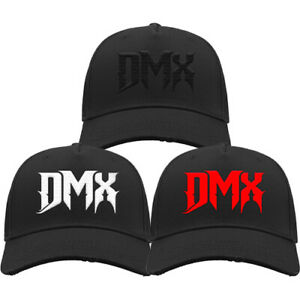 DMX EMBROIDERED DISTRESSED CAP Rapper Hip Hop Old School Rap Ruff Ryders Curved