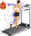 2.0 HP Electric Treadmill Max 300lbs Capacity 6-IN-1 Folding Running Machine Lot