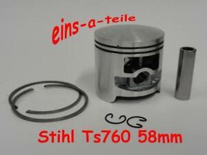 Kolben passend für Stihl TS760 58mm NEU