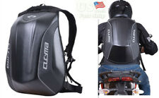Motorcycle Backpack Hard Shell Air Flow Track Riding Stealth No Drag Back Pack
