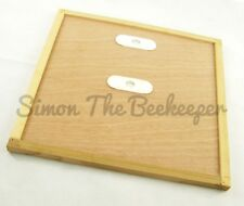 [UK] Beekeeping British National Bee Hive Crown Board with Porter Bee Escapes