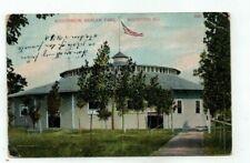 IL Rockford Illinois antique 1907 post card Auditorium in Harlam Park