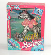 Barbie Safari Animal Lovin' NRFB Zebra Zizì sealed sigillata 1988 Mattel