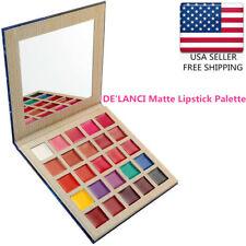 DE'LANCI Matte Lipstick Palette Multishade lip palette Beauty Makeup 25 Colors