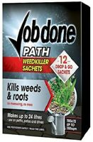 Bayer Job Done- Path - 12 Sachet Weed Killer - Very Strong Weedkiller