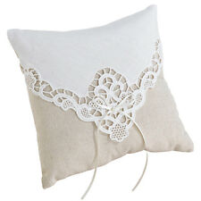 country lace ring pillow wedding ring bearer pillow wedding Ringbearer