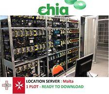 Chia XCH 1 Plot 100% Completo - Pronto Uso Garantito - Mining - Europa (MT) -24h