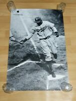 Jackie Robinson Apple Think Different Poster Advertising Original VTG 36 x 24