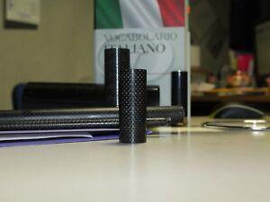 Tubi in fibra di Carbonio Plain 3k 003 da est 8 int 6 a est 34 int 32