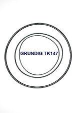 COURROIES SET GRUNDIG TK147 MAGNETOPHONE A BANDE EXTRA FORT NEUF FABRIQUE TK 147