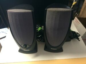Dell A215 Black Multimedia 2 Channel Computer Speakers