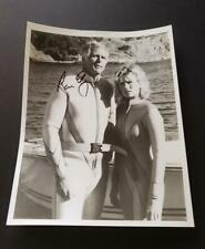 Ron Ely Hand Signed Photo (Sea Hunt)