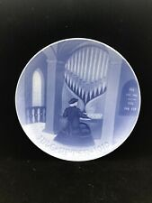 """1910 Bing and Grondahl Christmas Plate 7 1/4"""" - Excellent Condition"""