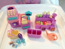 My little pony Cash Register, Fruit Stand, Basket And Accessories