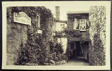 LOVELY R.P. POSTCARD LOBSTER POT SIGN-MOUSEHOLE VILLAGE PENZANCE POSTED 1961