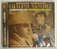 Chalino Sanchez Acompanado Por Los Amables Del Norte Music CD