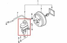 OEM Power Brake Master Cylinder W/ABS/ESP Ssangyong Rexton 2004+ #4854008C12