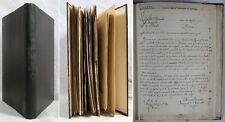141 documents originaux italiens de la 1ère Guerre Mondiale, signés