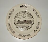 Montreal Olympiad XXI Decorative Plate, Wedgwood, England, pre-owned