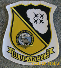 """XXL 12"""" US NAVY BLUE ANGEL PATCH XL MARINES F-18 HORNET JACKET AIRSHOW GIFT WOW"""