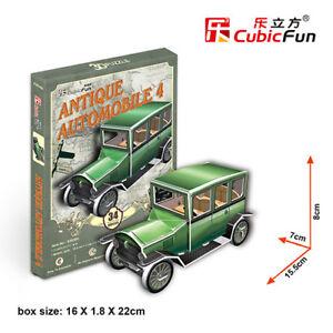 CubicFun 3D puzzle S3030h Antique Automobile4  34pcs