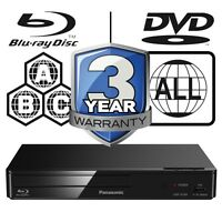 Panasonic DMP-BD84EB-K Multi RegionAll Zone Code Free Smart Blu-ray Player