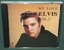 Elvis Presley RCA/BMG We Love Elvis Vol 2 CD Japan B18D-4138 NM