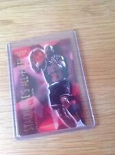 Michael Jordan baloncesto de la NBA Fleer 96-7 Trading Card